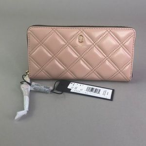 MARC JACOBS Continental Leather Wallet